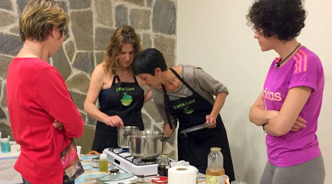 Ciclo talleres «Hacia una alimentación vegetariana» en el centro Tu Tiempo de Paz