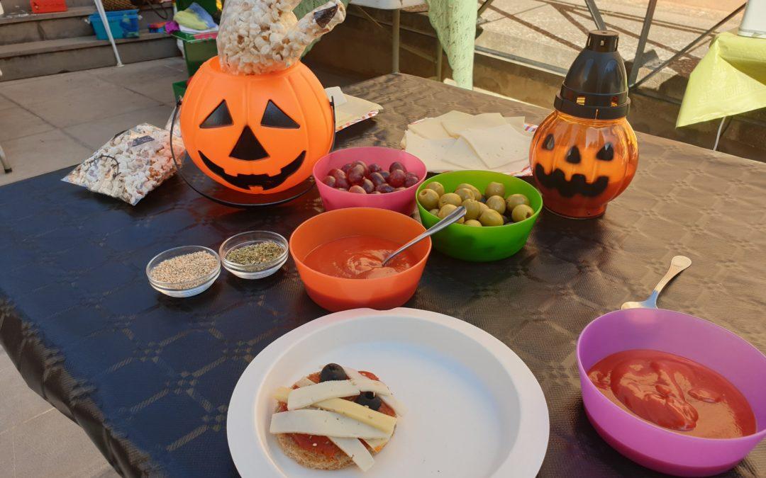 Taller de Halloween para niños