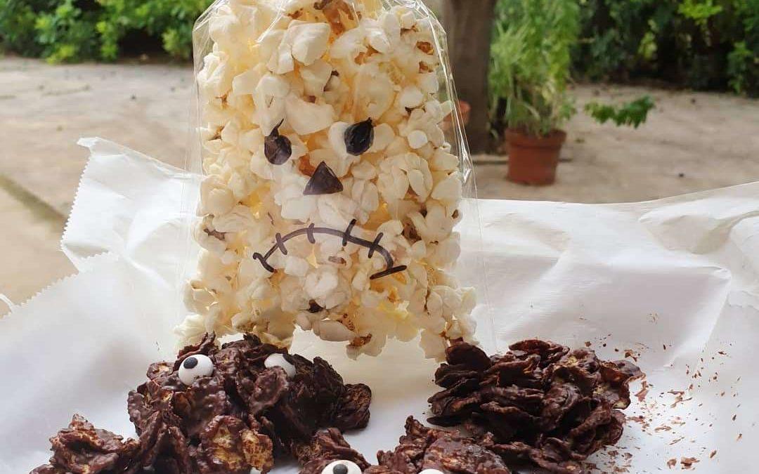 Receta Rosas del desierto de chocolate